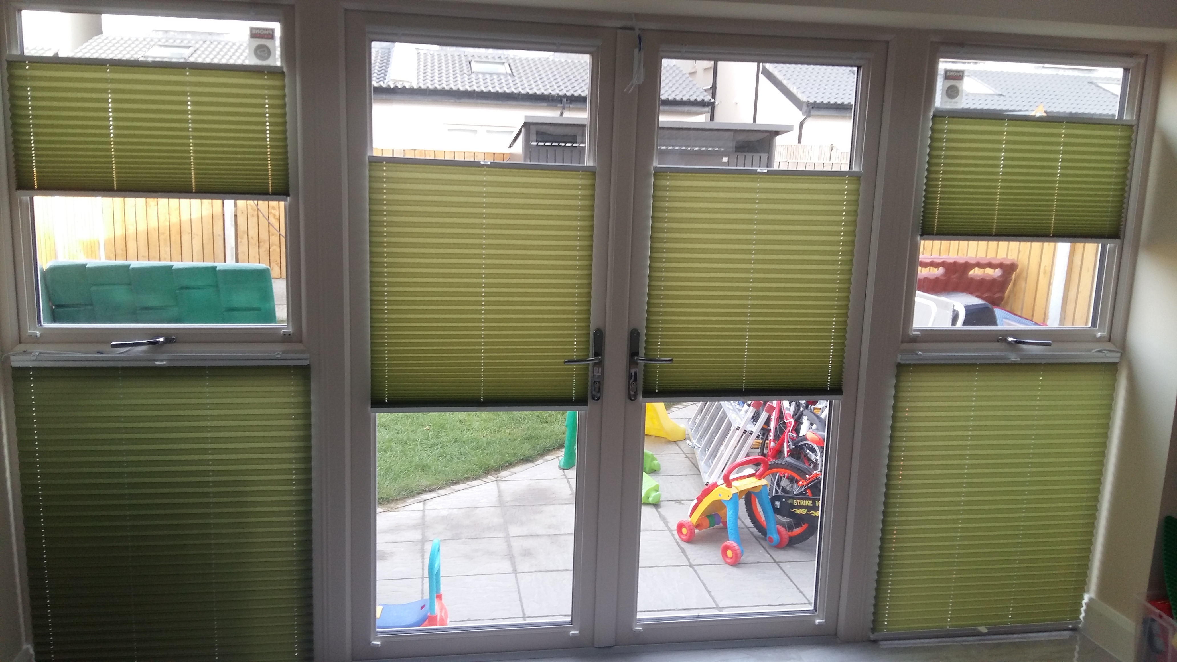 Pleated Blinds Gallery