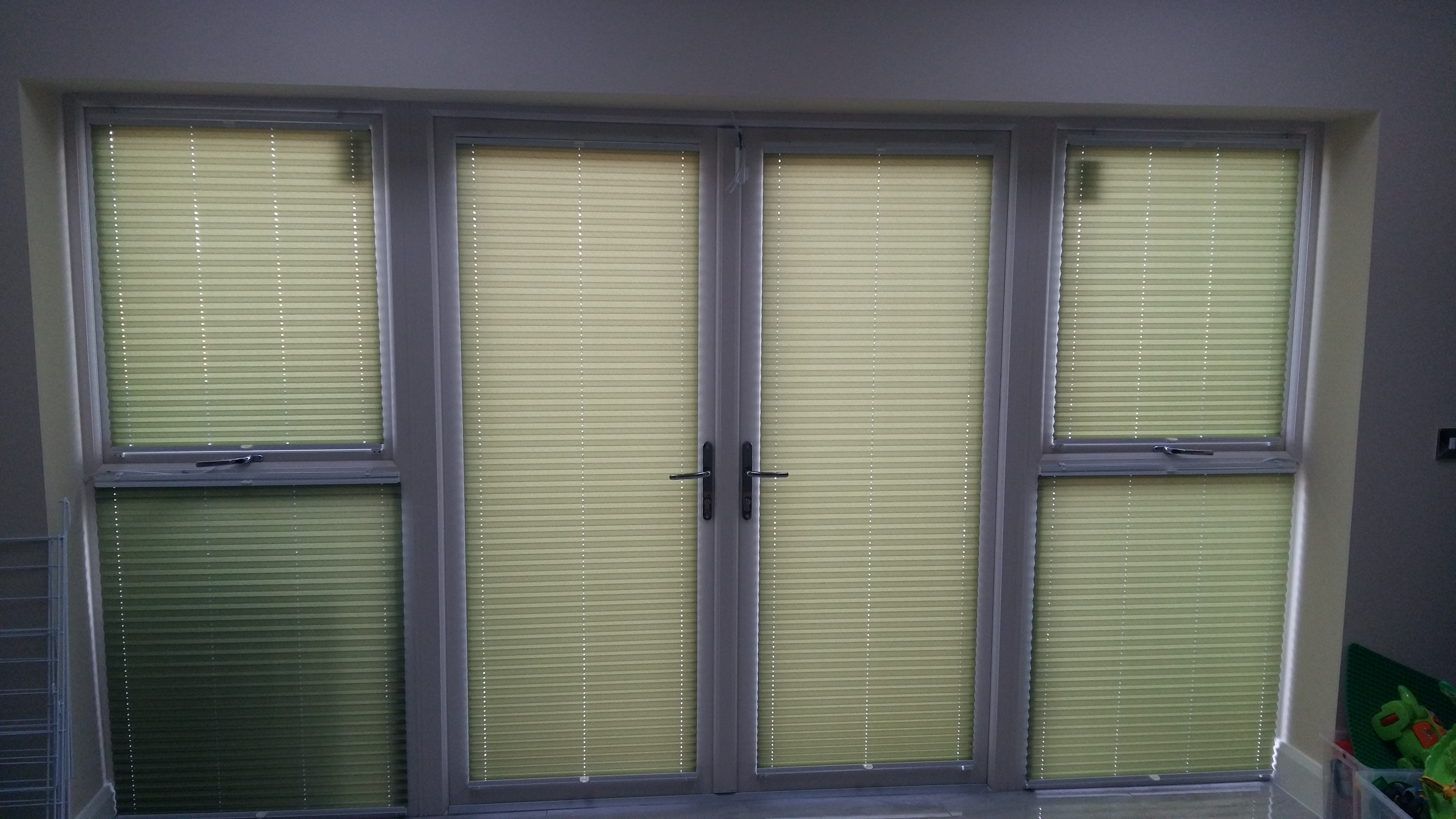 Pleated Top Down Bottom Up Window Blind