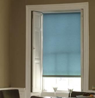 Acacia Teal Window blind