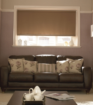 Prestbury Chocolate Window blind