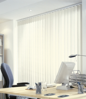 Blenheim White Window blind