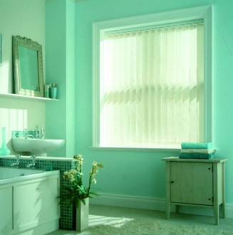 Blossom Parchment Window blind