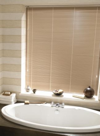 Latte bathroom Window blind