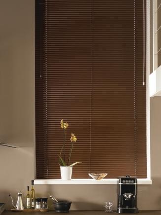 Mahogany Aluwood Window blind