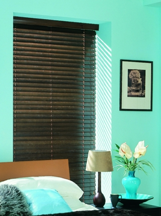 Dark Walnut Sherwood Range Window blind