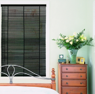 Piano Black Sherwood Range Window blind