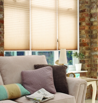 Creped Natural Window blind