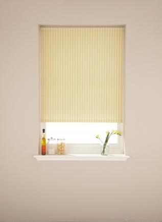 Ticking Yolk Window blind