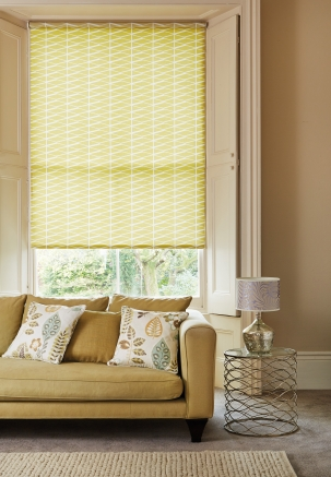 illusions Green Window blind