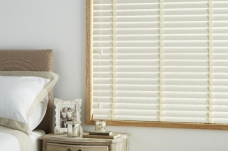 Ecru Tape Window blind