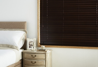 Dark Walnut Window blind