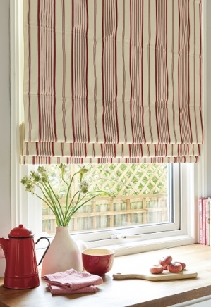Frenwick Red - New Range 2016 Window blind