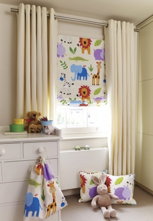 Zoo Time - New Range 2016 Window blind
