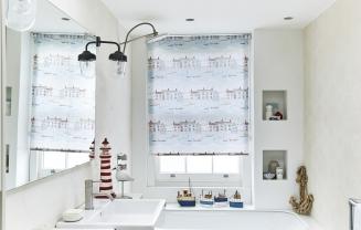 Brixham Blue2 - New Range 2016 Window blind