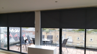 Large Patio Roller - Capel Street Window blind
