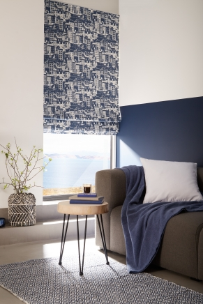 Harbour Blue - New Range 2018 Window blind
