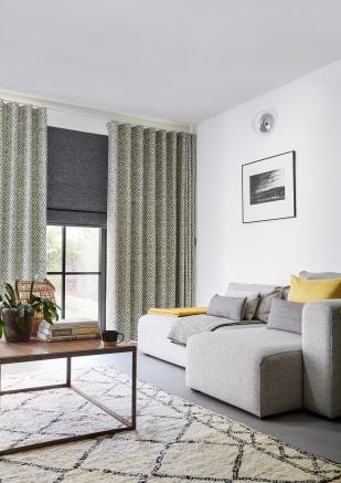 Lennox Charcoal - New Range 2018 Window blind