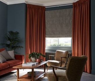 Calista Smoke - New Range 2018 Window blind
