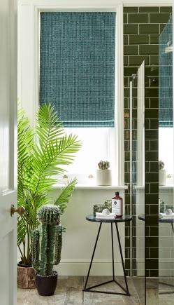 Rabisco Teal Green - New Range 2018 Window blind