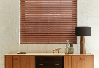 Fauxwood Tenne Window blind