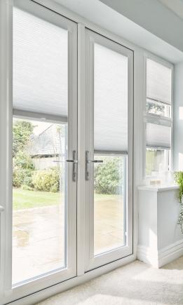 INTU Micro Infusion White Window blind