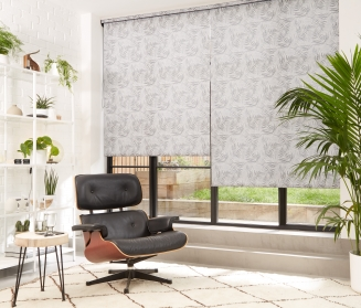 Hothouse Black Window blind