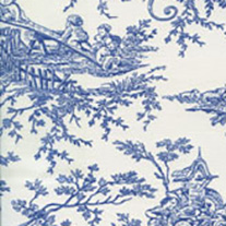 Tollie French Blue - Roman Blinds