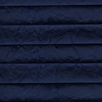 Creped Navy From 52 Euro - Pleated Blinds