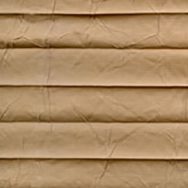 Creped Caramel From 52 Euro - Pleated Blinds