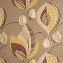 Alva Plum - Roman Blinds