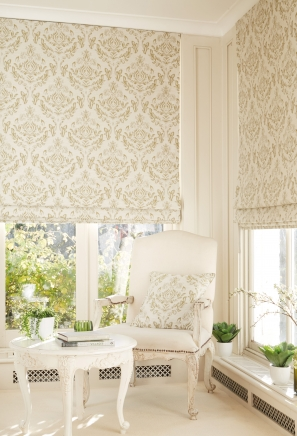 Anatolia Moss Roman blinds - From 62 Euro - Roman Blinds