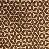 Lorenza Chocolate - Roman Blinds