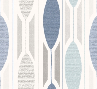 Aarlborg Blue - New Range 2016 - Roman Blinds