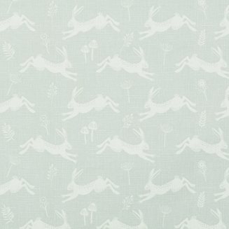 Country Hares Silver - New Range 2018 - Roman Blinds