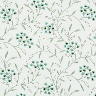 Ornella Teal - New Range 2018 - Roman Blinds