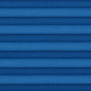 Wilton Blackout Blue - Pleated Blinds