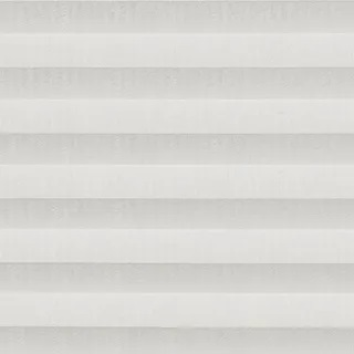 Echo White Pleated Blind - Pleated Blinds