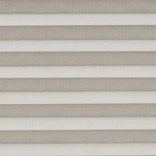 Henley Stripe Grey Pleated Blinds - Pleated Blinds